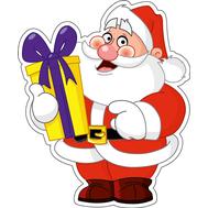 Дед Мороз и подарок, фото 1