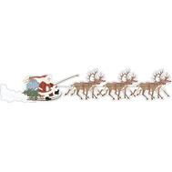 Дед Мороз на санях, фото 1