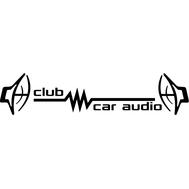 Наклейка Club Car Audio, фото 1