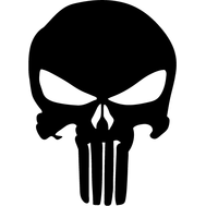 Наклейка Punisher, фото 1