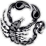 Наклейка Скорпион, фото 1
