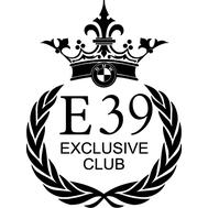 Наклейка BMW Club E39, фото 1