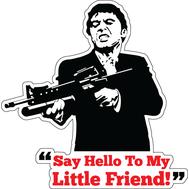 Наклейка Tony Montana, фото 1