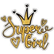 Наклейка Super Girl, фото 1