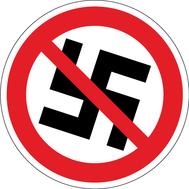 Наклейка Нет Фашизму!, фото 1