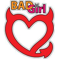 Наклейка Bad Girl, фото 1