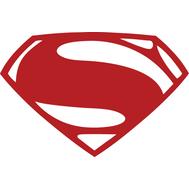 Наклейка  Superman logo, фото 1