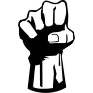 Наклейка Revolution Fist, фото 1