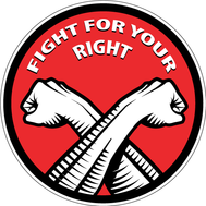 Наклейка Fight For Your Right, фото 1