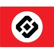 Наклейка Флаг РосКомНадзора, фото 1