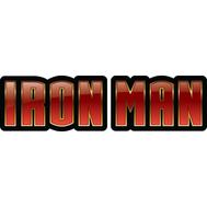Наклейка Железный Человек Логотип, фото 1