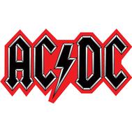Наклейка AC/DC, фото 1