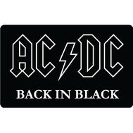 Наклейка AC/DC Back In Black, фото 1