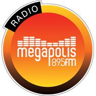 Наклейка Megapolis FM круглая, фото 1