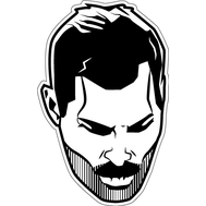 Наклейка Freddie Mercury, фото 1