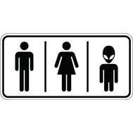 Наклейка Туалет для всех, фото 1