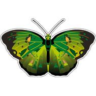 Наклейка Бабочка зеленая, фото 1