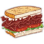 Наклейка Сендвич, фото 1