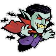 Наклейка Дракула, фото 1