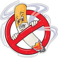 Наклейка Курение Запрещено, фото 1