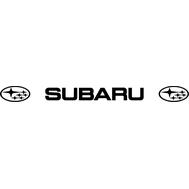 Наклейка Subaru на лобовое стекло, фото 1