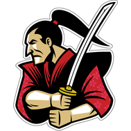 Наклейка Злой самурай с мечом, фото 1