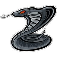 Наклейка Маленькая серая кобра, фото 1