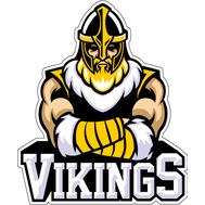 Наклейка Викинг в желтых нарукавниках, фото 1