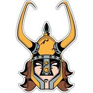 Наклейка Юный викинг, фото 1