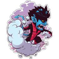 Стикер Marvel Nightcrawler, фото 1