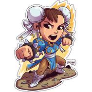 Стикер Street Fighter Chun-Li, фото 1
