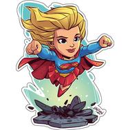 Стикер DC Super Girl, фото 1