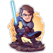 Стикер Star Wars Энакин Скайуокер, фото 1