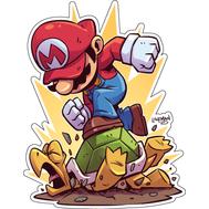 Стикер Super Mario, фото 1
