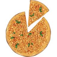 Наклейка Пицца 4 сыра, фото 1
