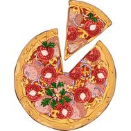 Наклейка Пицца с салями и помидорами, фото 1