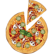 Наклейка Пицца, фото 1