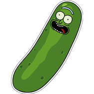 Наклейка I'm Pickle Rick, фото 1