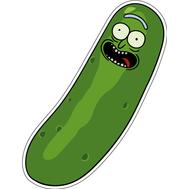 Наклейка I'm Pickle Rick, фото 1
