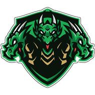 Наклейка Дракон, фото 1