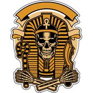 Наклейка Скелет фараона, фото 1