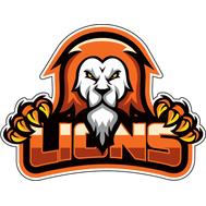 Наклейка Lions, фото 1