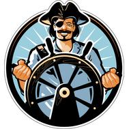 Наклейка Капитан, фото 1