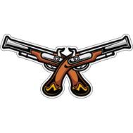 Наклейка Пистолеты, фото 1