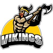 Наклейка Vikings, фото 1