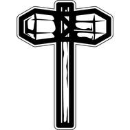 Наклейка Молот викинга, фото 1