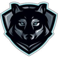 Наклейка Волк, фото 1