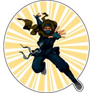 Наклейка Нинзя, фото 1