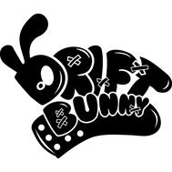 Наклейка Drift Bunny, фото 1