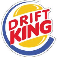 Наклейка Drift King, фото 1
